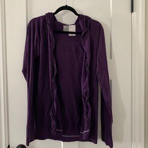Dark Purple Nike Light Jacket XXL